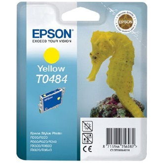 Epson T0481 black tintapatron | Stylus Photo R200/220/300/320/340,RX500/600/640