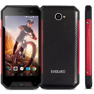 Evolveo StrongPhone Q7 LTE Dual SIM, Black (Android)