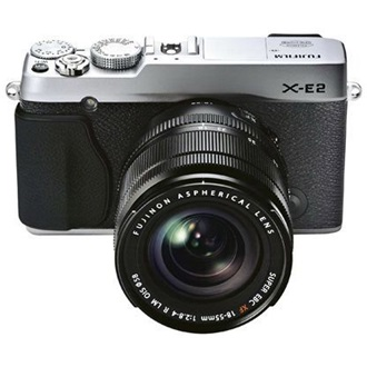 FUJIFILM FINEPIX X-E2 + 18-55mm Ezüst Kit