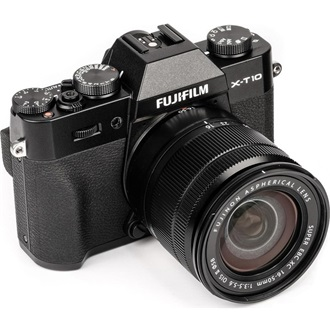 FUJIFILM FINEPIX X-T10 + 16-50mm Fekete Kit