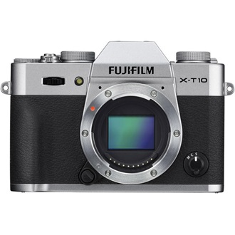 FUJIFILM FINEPIX X-T10 + 18-55mm Ezüst Kit