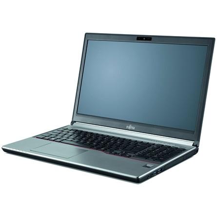 Fujitsu LifeBook E756 notebook fekete