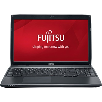 "Fujitsu Lifebook A514 notebook 15,6"" Core i3-4005U 4GB 128GB (gyári!) SSD Win 8."