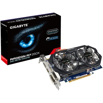 GIGABYTE Radeon R7 260X WindForce2 2GB GDDR5 128bit PCI-E x16