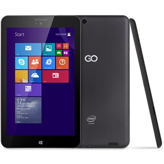 "GOCLEVER INSIGNIA 800 WIN 8"" 16GB tablet fekete"