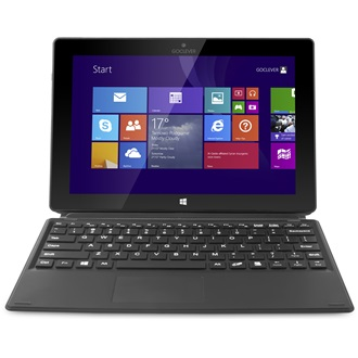 "GOCLEVER Insignia 1010 Business Windows 8.1 10.1"" 32GB tablet + tok + billentyűzet fekete"