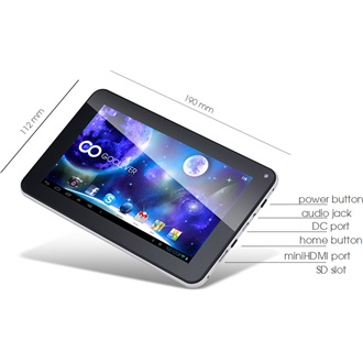 "GOCLEVER Orion 70 7"" 8GB tablet fekete"