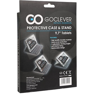 GOCLEVER Protecitve Stand Case 7s tablet tok fekete