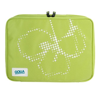"GOLLA 2011 10.2"" - 11.6"" DIP lime laptopmappa BASIC"