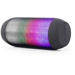 Gembird Bluetooth speaker with LED light effects, black, 5W, micro SD/USB/AUX