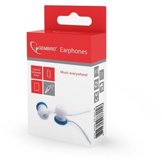 Gembird  Stereo In-Earphones MP3, blue