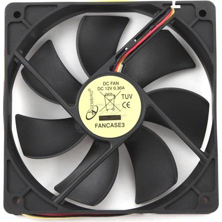 Gembird 120 SB rendszerhűtő ventilátor