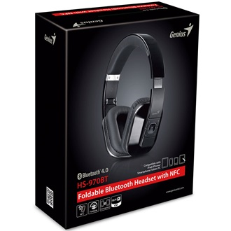Genius HD-970BT stereo headset fekete