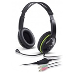 Genius HS-400A stereo headset fekete