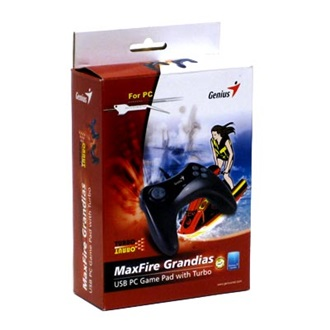 Genius MaxFire Grandias Turbo USB gamepad