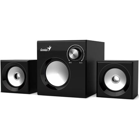 Genius SW-2.1 370 2.1 hangszóró fekete