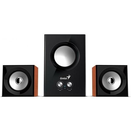 Genius SW-2.1 375 12W fa mintázatú hangszóró