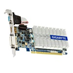 Gigabyte GeForce 210 Silent 1GB GDDR3 64bit low profile grafikus kártya