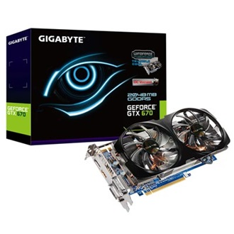 GIGABYTE Geforce GTX670 WindForce2 2GB GDDR5 256bit PCI-E x16