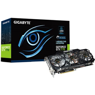 GIGABYTE Geforce GTX770 OC 4GB GDDR5 256bit PCI-E x16