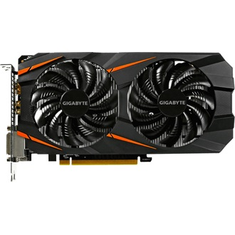 Gigabyte GeForce GTX 1060 WindForce2 OC 6GB GDDR5 192bit grafikus kártya