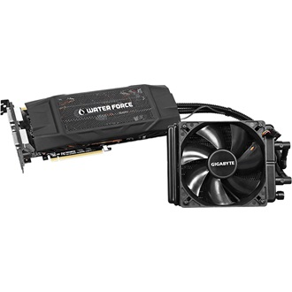 Gigabyte GeForce GTX 980 WaterForce OC 4GB GDDR5 256bit grafikus kártya