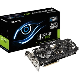 Gigabyte GeForce GTX 980 WindForce3 OC 4GB GDDR5 256bit grafikus kártya