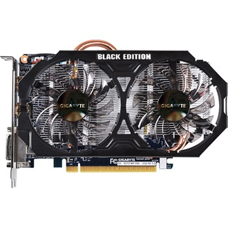 Gigabyte GeForce GTX 750 Ti Black Edition 2GB GDDR5 128bit PCI-E x16