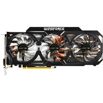 Gigabyte Geforce GTX780Ti WindForce3 3GB GDDR5 384bit PCI-E x16