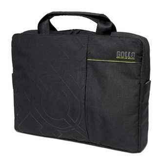 "Golla ONYX Slim 16"" notebook táska, black, 2010"