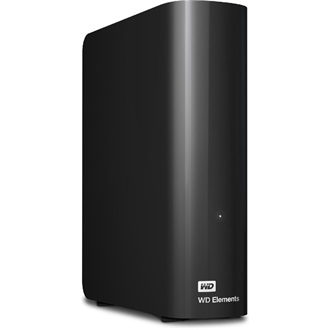 "Western Digital Elements Desktop 2000GB USB3.0 3,5"" HDD fekete"