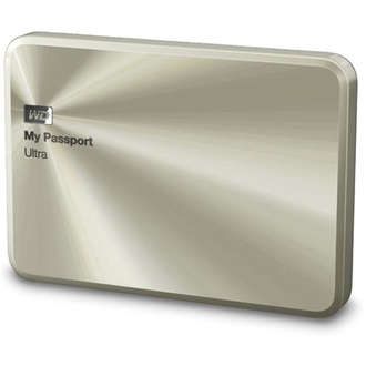 "Western Digital My Passport Ultra Metal Edition 1000GB USB3.0 2,5"" HDD arany"