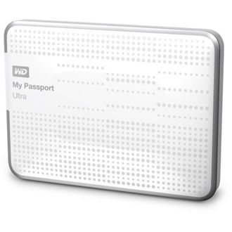 "Western Digital My Passport Ultra 1000GB USB3.0 2,5"" HDD fehér"