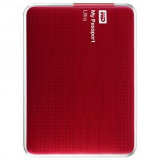 "Western Digital My Passport Ultra 2000GB USB3.0 2,5"" külső HDD piros"