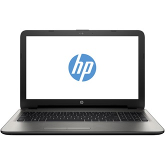 HP 15-AC121NH, 15.6 FHD AG, Core i3-5005U, 4GB, 128GB SSD, AMD R5M330 2GB, DOS, turbo ezüst