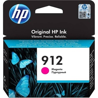 HP 912 MAGENTA ORIGINAL INK CARTRIDGE tintapatron magenta