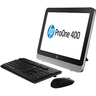 "HP All in One PC HP ProOne 400 Core i3-4160T 3.1GHz, 4GB, 500GB, DVD-RW, Win 7/8.1 Prof. 64 bit, 23"" 1920x1080"