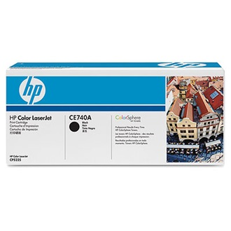 HP CE740A (307A) fekete toner