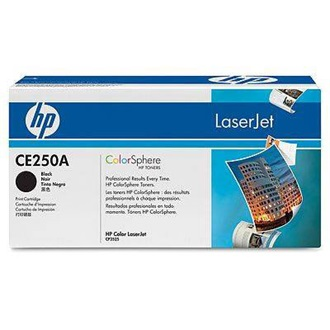 HP CE250A toner Fekete