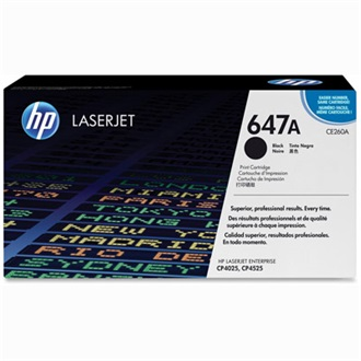 HP CE260A  toner Fekete