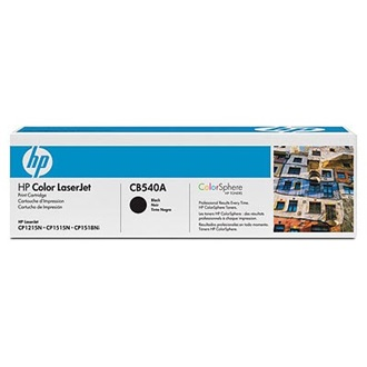 HP CB540A ColorSphere  toner Fekete