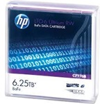 HP Data Cartridge LTO-6 - Labeled - 20 Pack - 2.50 TB (Native) / 6.25 TB (Compressed) - 846 m Tape Length 2,5TB adatkaze