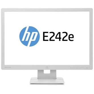 "HP EliteDisplay E242E 24"" LED monitor szürke"
