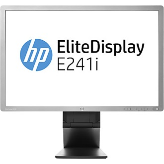 "HP EliteDisplay E241i 24"" IPS LED monitor ezüst"