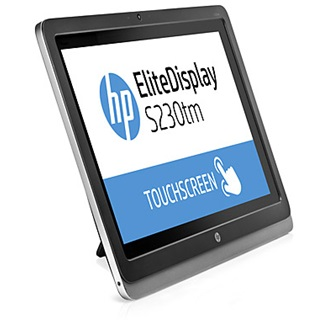 "HP EliteDisplay S230TM 23"" touch IPS LED monitor fekete-ezüst"