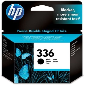HP INK CARTRIDGE NO 336 BLACK DE / FR / NL / BE / UK / SE tintapatron fekete