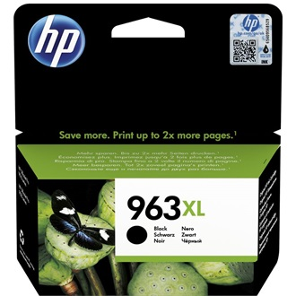 HP INK CARTRIDGE NO 963XL BLACK BLISTER tintapatron fekete