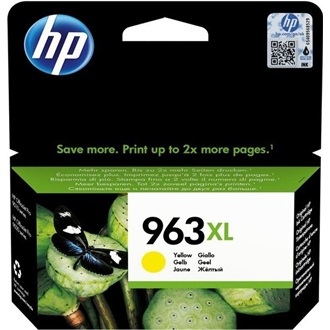 HP INK CARTRIDGE NO 963XL YELLOW BLISTER tintapatron sárga