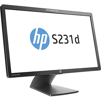 "HP LCD 23"" EliteDisplay S231d IPS 16:9 7ms 1000:1 VGA DisplayPort USB f/Notebook"