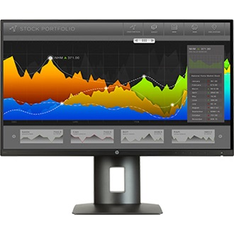 "HP LED IPS Monitor 27"" Z27n, 2560x1440, 1000:1, 350cd, 8ms, DP, DVI-D, HDMI"